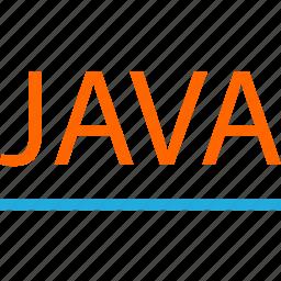 business, code, development, java, line, web icon