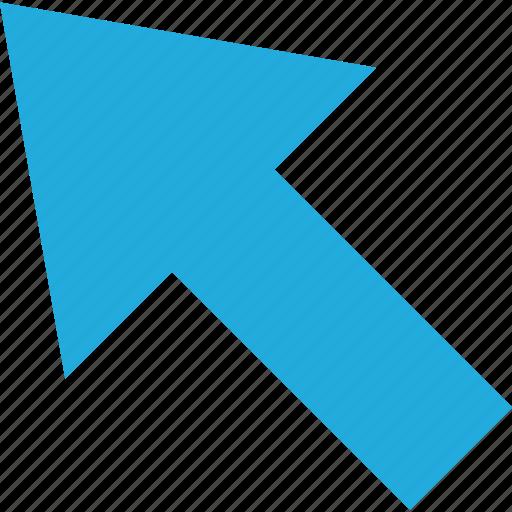 arrow, business, click, development, mouse, web icon