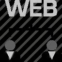 online, script, techonology, web, webdevelopment icon