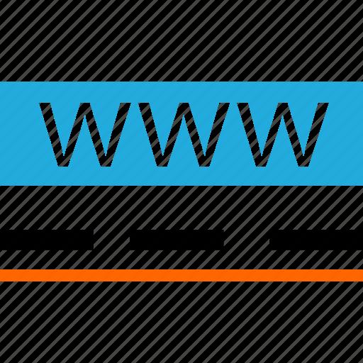 business, development, us, visit, web, www icon