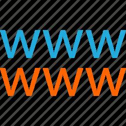 business, development, web, website, www icon