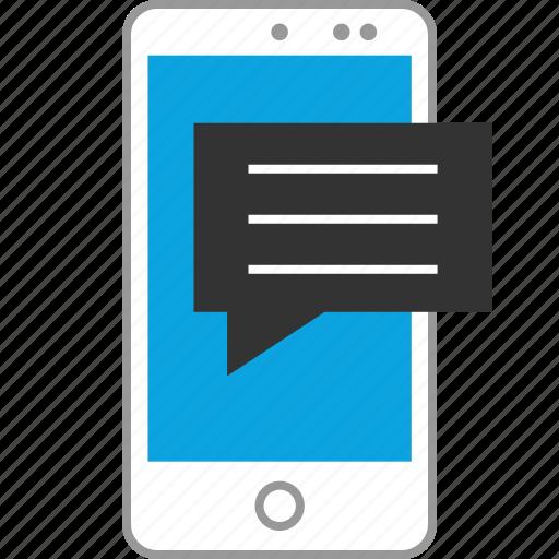 chat, internet, online, seo, sms, talk, web icon