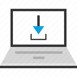 download, internet, laptop, online, pc, seo, web icon
