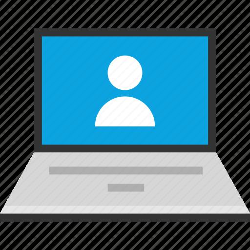 facebook, friend, internet, online, profile, seo, web icon