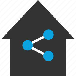 home, internet, network, online, seo, share, web icon