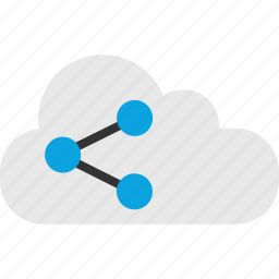 cloud, data, internet, online, seo, share, web icon