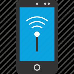 internet, online, phone, seo, signal, web, wifi icon