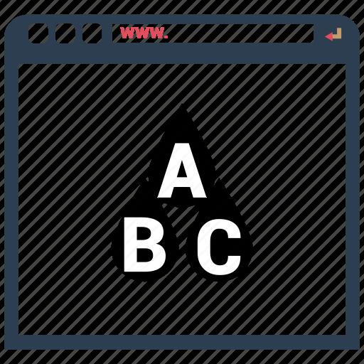 analytics, bar, browsing, chart icon