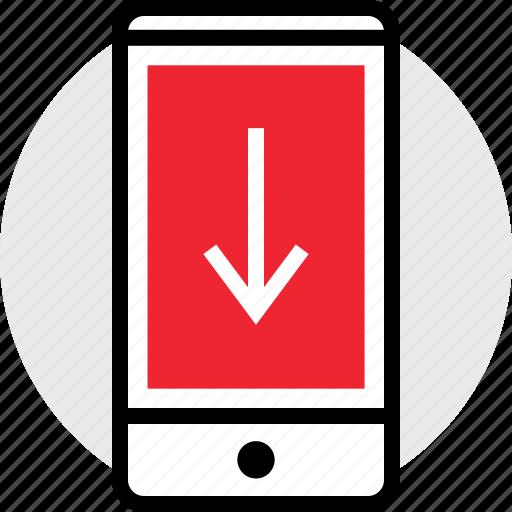 arrow, cell, internet icon