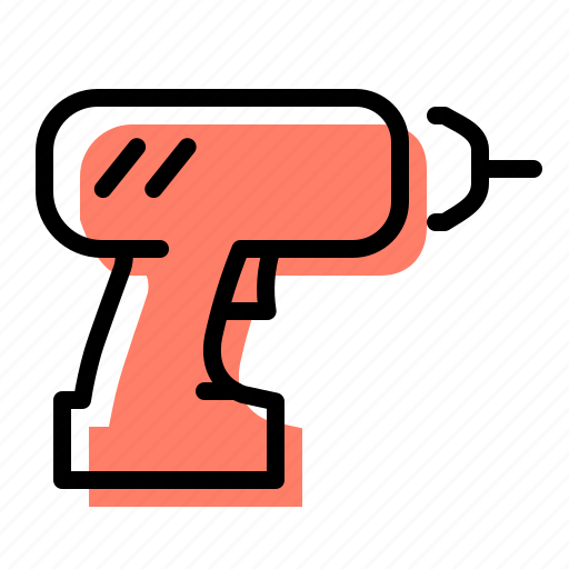 Tool, drill, construction, building icon - Download on Iconfinder