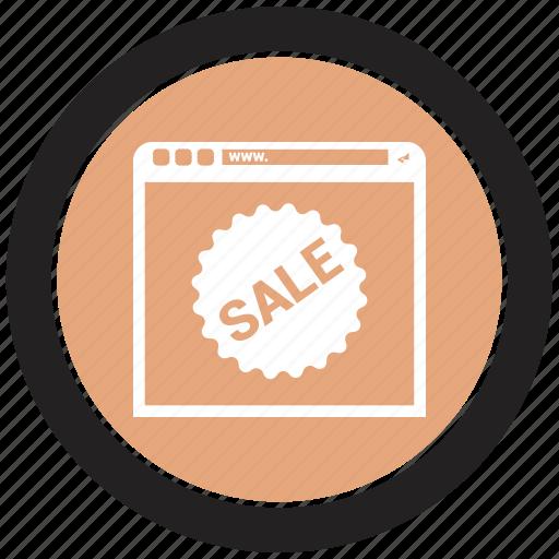 buy, discount, online, sale, web icon