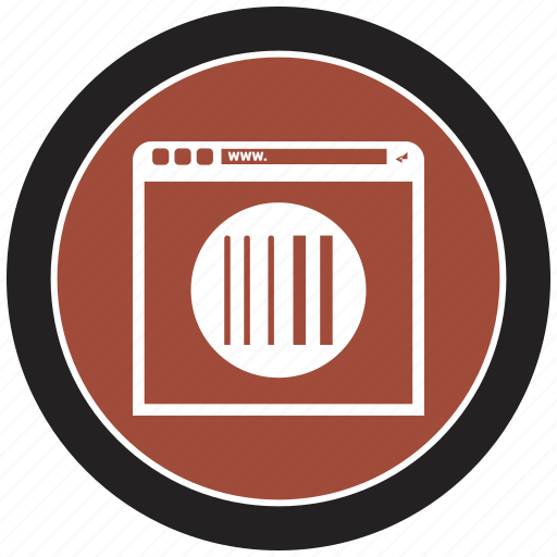barcode, browsing, buy, label, online icon