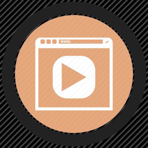 Blog, browser, online, internet icon