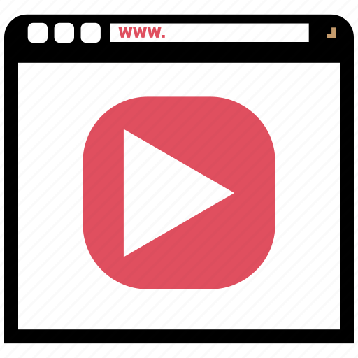 Blog, browser, internet, online, online movie icon - Download on Iconfinder