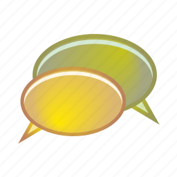 balloon, bubbles, chat, message, speech icon