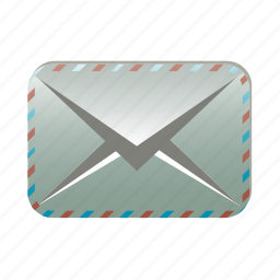 contact, email, letter, mail, post, send icon