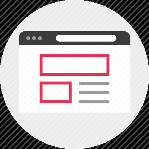 mockup, web, website icon