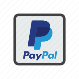 online payments, pay online, paypal, send money icon
