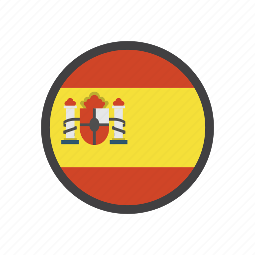 country, espana, flag, place, spain icon