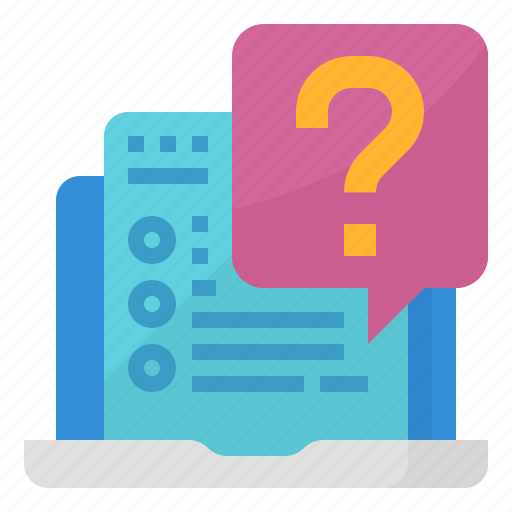 Asked, faq, frequently, questions icon