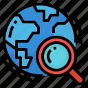 explore, find, research, search icon