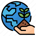 environment, nature, tree, world icon