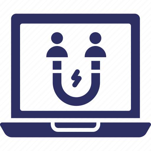 attract customer, attract user, customer engagement, user engagement icon