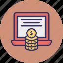 business monetization, data monetization, earning monetization, finance monetization icon