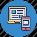 app design, app development, responsive design, ui design icon