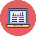 business analysis, business evaluation, business graph, business growth icon
