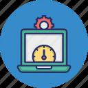 web optimization, web performance, web speed, web speed traffic icon