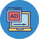 ads monetizing, digital ads, mobile ads, mobile monetizing icon