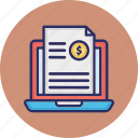 article monetization, blog monetization, content monetization, digital publishing icon