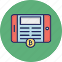 android bitcoin, bitcoin app, bitcoin cryptocurrency, blockchain app icon