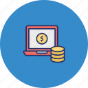 business monetization, data monetization, finance monetization, monetization website icon