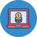 business monetization, data monetization, earning monetization, finance monetization icon