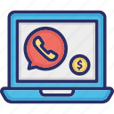 banking call center, business call, call banking, financial call icon