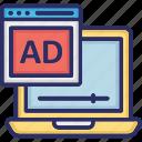 ads monetizing, digital ads, mobile ads, mobile monetizing icon