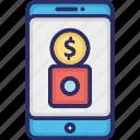 banking app, business app, financial app, media app icon