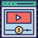 album monetization, media monetization, monetization website, multimedia monetization icon