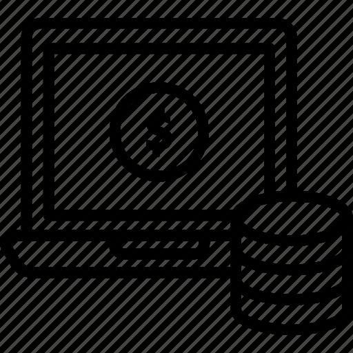data monetization, finance monetization, monetization website, v business monetization icon