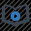 audio, book, e book icon