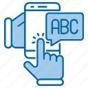 distance, school, abc, education, knowledge icon