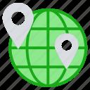 earth, education, globe, location, school locations, world