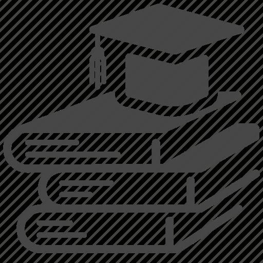 ebooks, education, graduation, knowledge, online, school, study icon