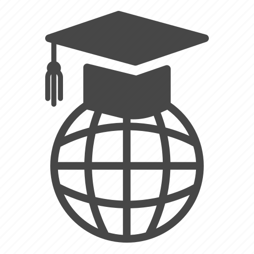 academy, education, graduation, learning, online, school, study icon