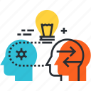 creativity, idea, brainstorming, innovation, thinking, know how, invention icon