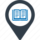 university, location, education, locate icon
