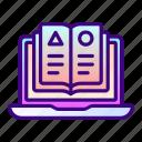 book, laptop, books, knowledge, ebook, education, online