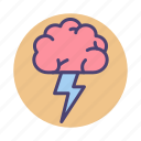 brainstorm, brainstorming, thinking icon
